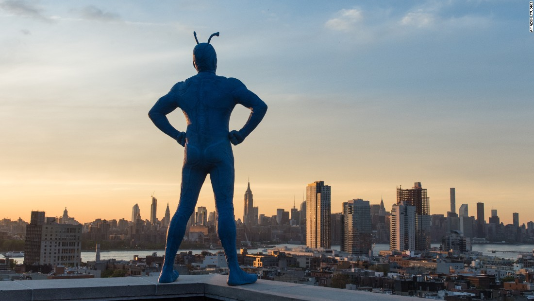 "<strong>""The Tick"": </strong>This live action version of a comic character is already a fan favorite and a reboot of a cult classic. <strong>(Amazon Prime) </strong>"