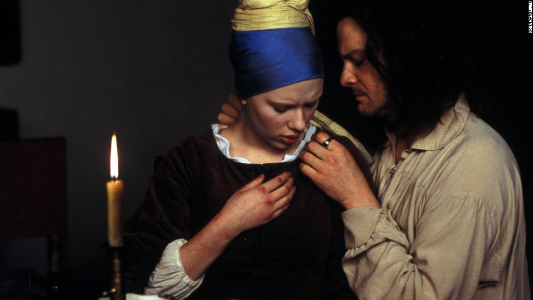 "<strong>""Girl With A Pearl Earring"":</strong> History meets drama in this movie based on a book of the same title by Tracy Chevalier. Scarlett Johansson stars as a servant in the household of the 17th century Dutch painter Johannes Vermeer, played by Colin Firth. <strong>(HBO Now) </strong>"