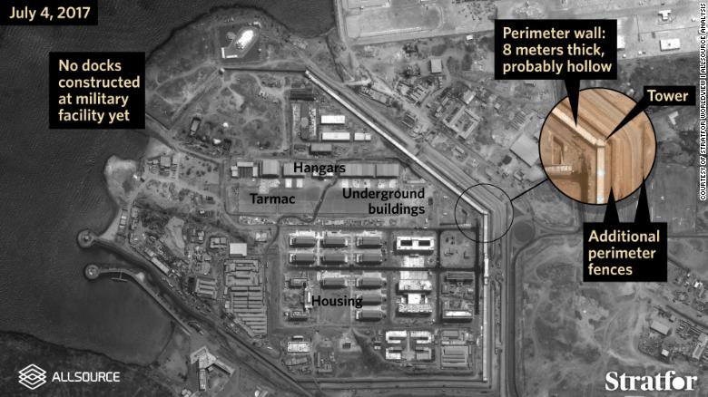 Satellite Photos Reveal Underground Construction At Chinese - Satellite footage