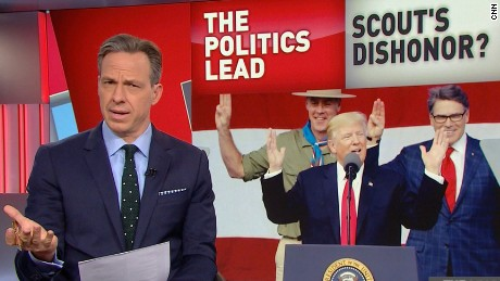 tapper monologue trump boy scouts speech lead_00000603