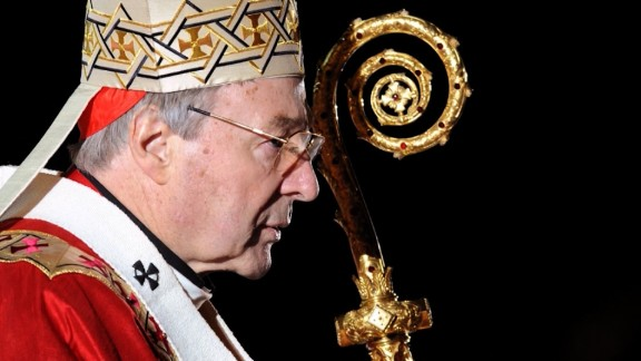 Cardinal George Pell was given leave from the Vatican to fight the charges.