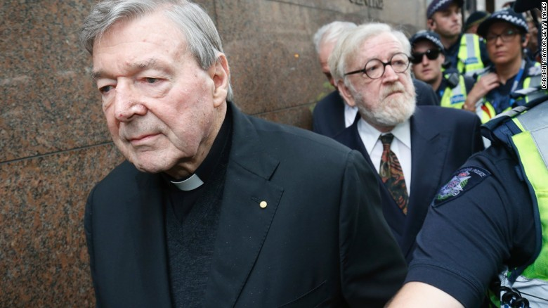 Cardinal Pell faces sex assault charges