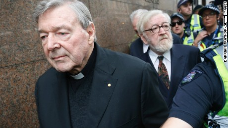 Vatican treasurer George Pell faces Australian court