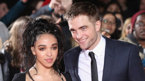FKA Twigs and Robert Pattinson at 'The Lost City of Z' UK premiere on February 16, 2017 in London, United Kingdom.