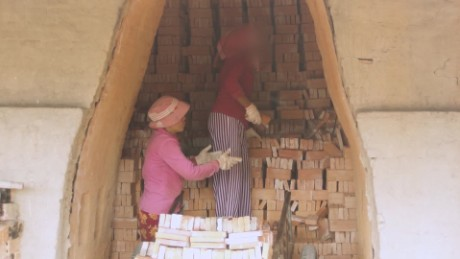 Working off debt in Cambodia's brick kilns