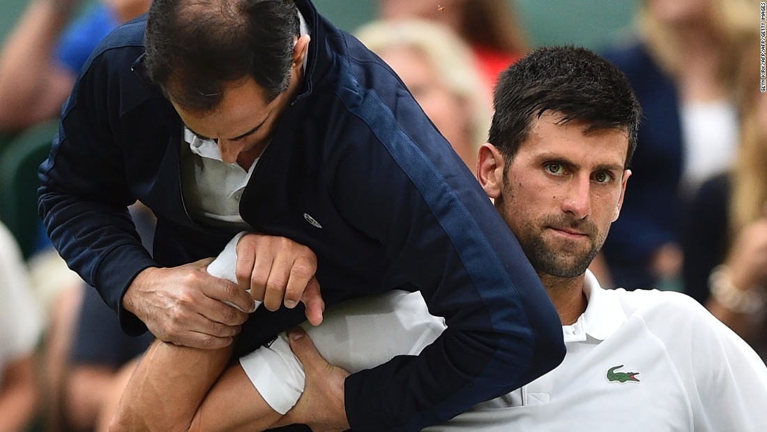 Another player making a comeback is Novak Djokovic. The 12-time grand slam winner hasn't competed since July due to an elbow injury.