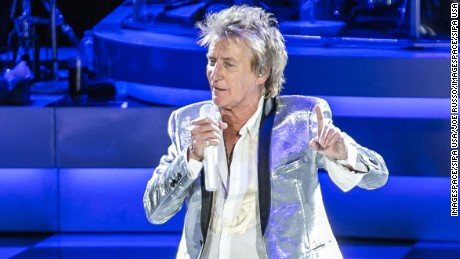 Rock icon Rod Stewart: 'I have to do something' for kids who trekked to D.C.
