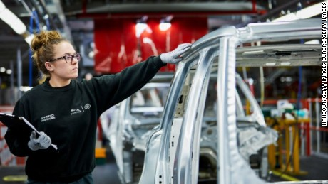 SOLIHULL, ENGLAND - MARCH 01:   In this handout photo provided by Jaguar Land Rover, Molly Cartwright - Advanced Apprentice (Protoype Development) is photographed at the Jaguar Land Rover factory on March 1, 2017 in Solihull, England. The photoshoot was one of a series of portrait sessions, to mark International Women's Day 2017, on 8 March.  (Photo by Handout/Jaguar Land Rover via Getty Images)