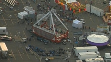 Tragedy at Ohio State Fair as one person is killed after ride malfunction