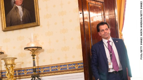 The 8 wildest storylines from The Mooch's first (and only) week on the job