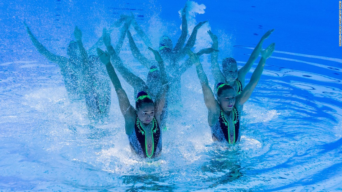 """The girls are having a lot of problems [underwater] as they are kicking each other,"" the Hungarian synchronized swimming team's head coach Natalia Tarasova<a href=""http://edition.cnn.com/2017/07/12/sport/hungary-synchronized-swimming-fina-world-aquatics-championships/index.html""> told CNN Sport.</a>"