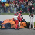 alonso drops out of indy