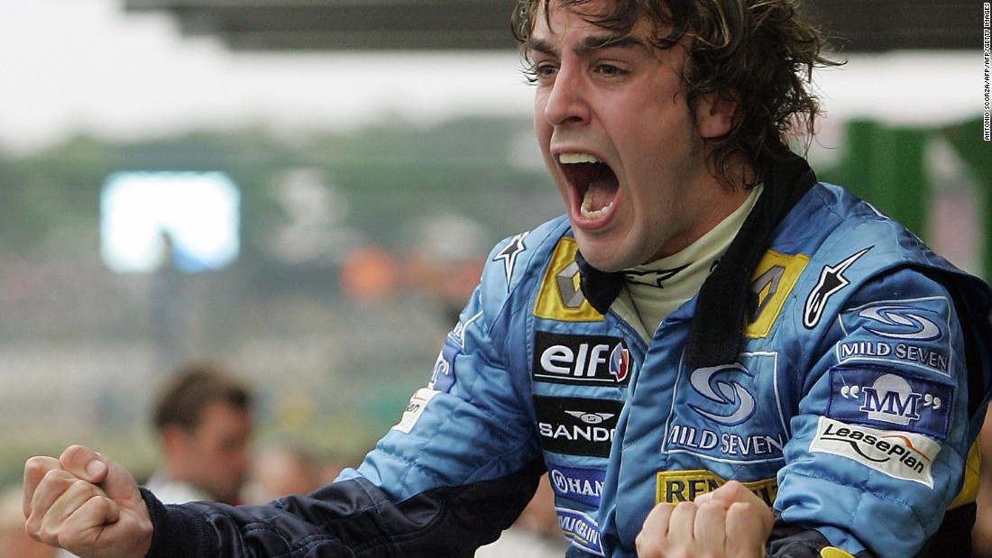 It's a far cry from his Renault days when Alonso won the 2005 drivers' championship by a comfortable 21-point margin...