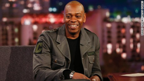 "Dave Chappelle appears on ""Jimmy Kimmel Live."""