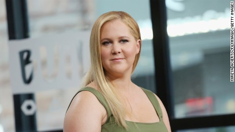 "Actress Amy Schumer visits Build Presents to discuss the new film ""Snatched"" at Build Studio on May 2, 2017 in New York City."