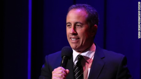 Jerry Seinfeld, at the John F. Kennedy Center for the Performing Arts in June n Washington, DC.