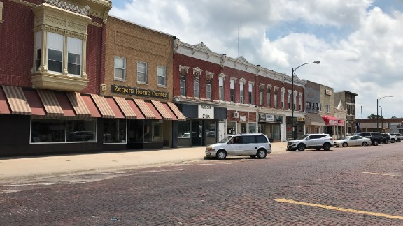 David City, NE population 2,906. The support for President Trump in this highly Republican town seems to have remained high. Residents are still concerned about Healthcare, Jobs, and the nation's security.