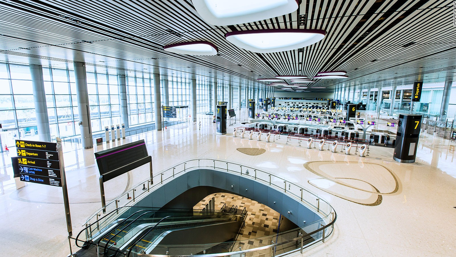 Singapore Changi Airports new terminal is dazzling CNN Travel