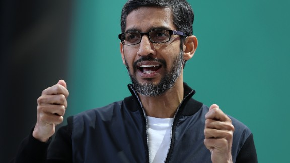 """Google CEO Sundar Pichai said the company """"wanted to learn what it would look like if Google were in China."""""""