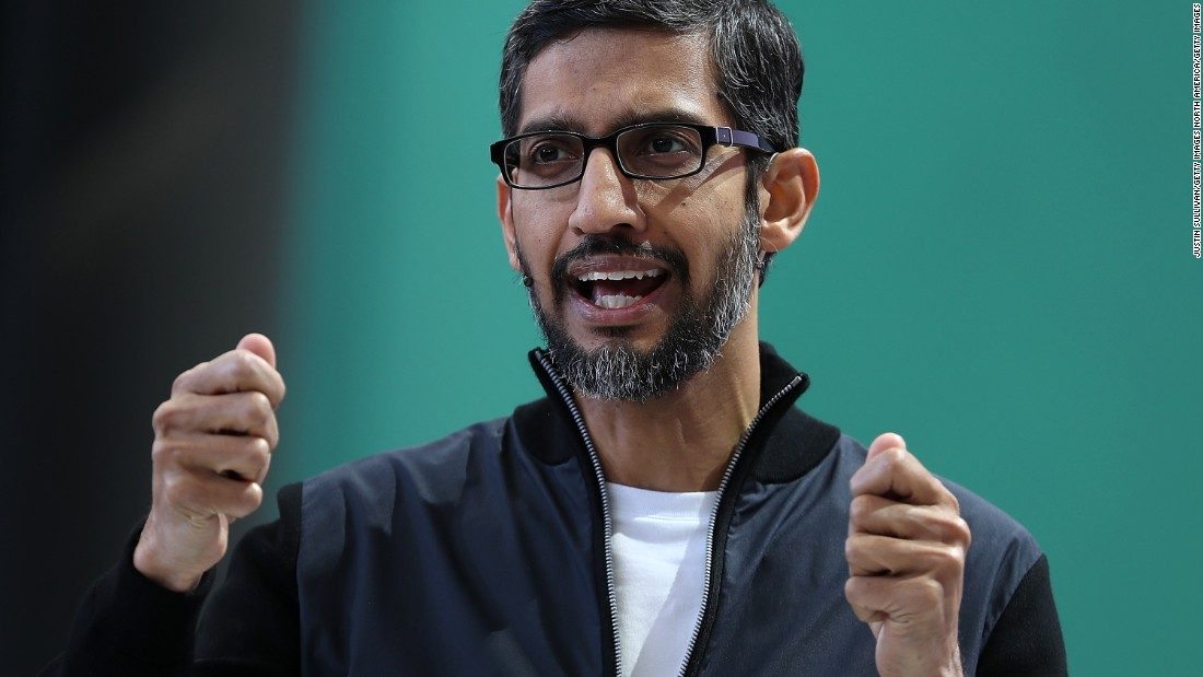 Google's CEO says it's still considering a censored search engine in China