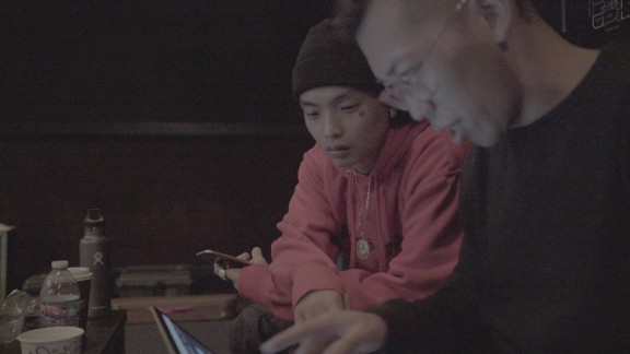 (Left) Dongheon Lee, better known as Keith Ape