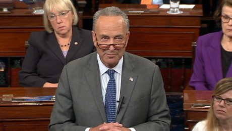 Schumer gets emotional over McCain