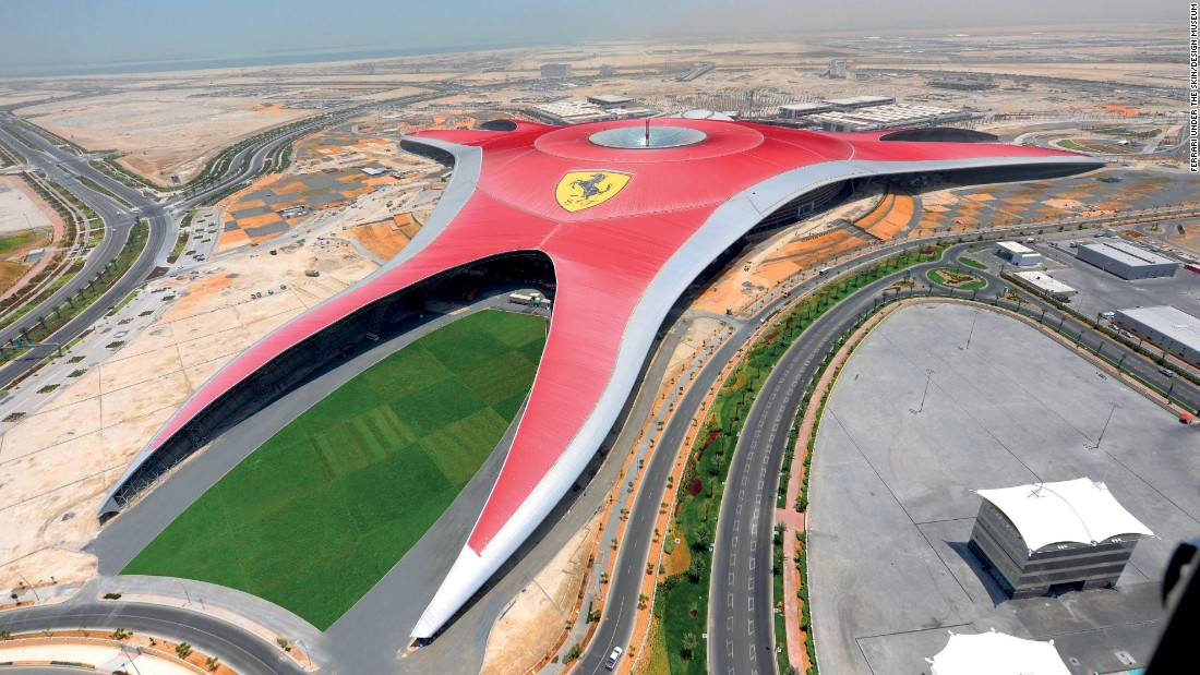 An expansive Ferrari-branded amusement park, home to the world's fastest roller coaster, opened its doors in 2010.