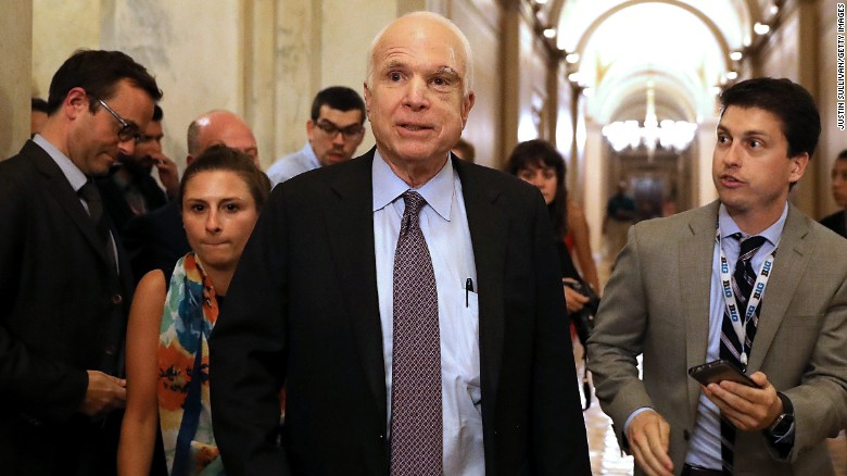 McCain feeling stronger, expected to return to DC soon