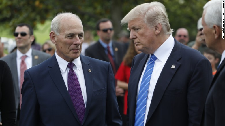Kelly warned Trump about talking to witnesses