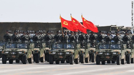 Chinese President Xi Jinping has shored up control over the country's military and the Communist Party in recent years.
