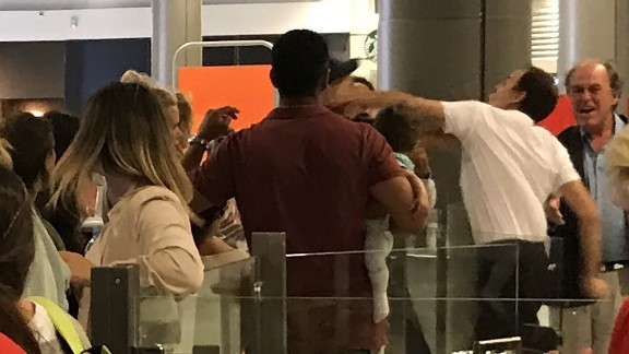 An EasyJet passenger was punched by a member of the ground staff at Nice airport in France on Saturday, July 29.