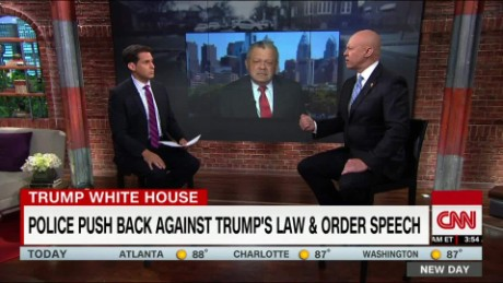 Former police official: Trump's comments to police reinforce negative stereotype