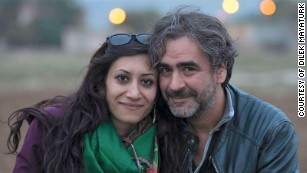 Jailed journalist remains 'patient' despite 150 days of solitary, wife says