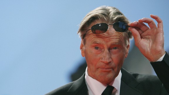 """Sam Shepard adjusts his sunglasses as he arrives for the screening of the movie """"The Assasination of Jessie James by the coward Robert Ford"""" during the 64th Venice International Film Festival in September 2007."""