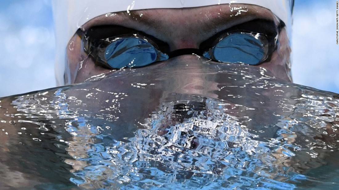 American swimmer Kevin Cordes competes in the 200-meter breaststroke during the FINA World Championships on Thursday, July 27.