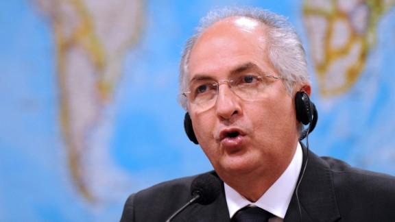 Antonio Ledezma, here as the Caracas mayor in 2009, has been known for his opposition to the regime.