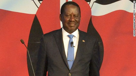 Raila Odinga is promising to fight corruption, create jobs and improve food security.