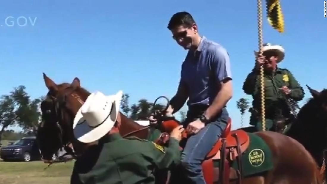 Paul Ryan releases border wall video