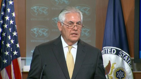 'Strong' military action against North Korea remains an option, Tillerson says