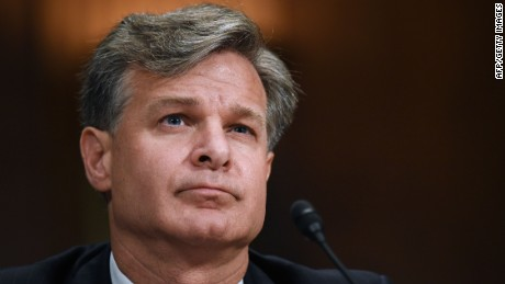 FBI Director Wray: No 'whiff of interference' with Mueller investigation