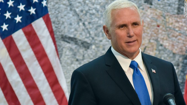Lotter: Pence has one focus in 2020 ... Trump