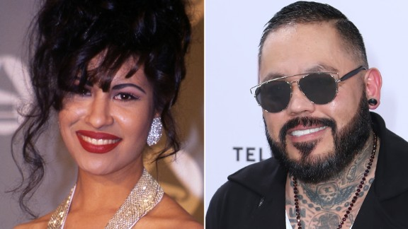 Sister and brother Selena and A.B. Quintanilla were members of the group Selena y Los Dinos.