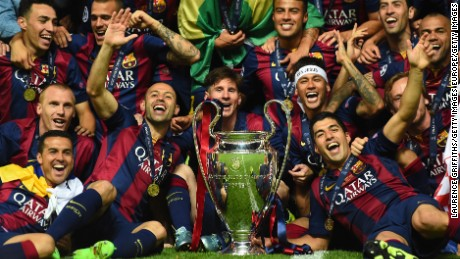 The last time Barcelona won the Champions League was way back in 2015.