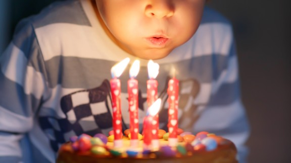 Adorable four year old kid celebrating his birthday and blowing candles on homemade baked cake, indoor. Birthday party for kids.; Shutterstock ID 366532079