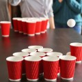 beer pong STOCK