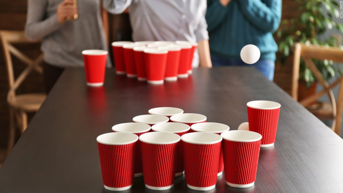 A study found that 100% of the bacteria on a pingpong ball transferred directly into the beer it landed in.