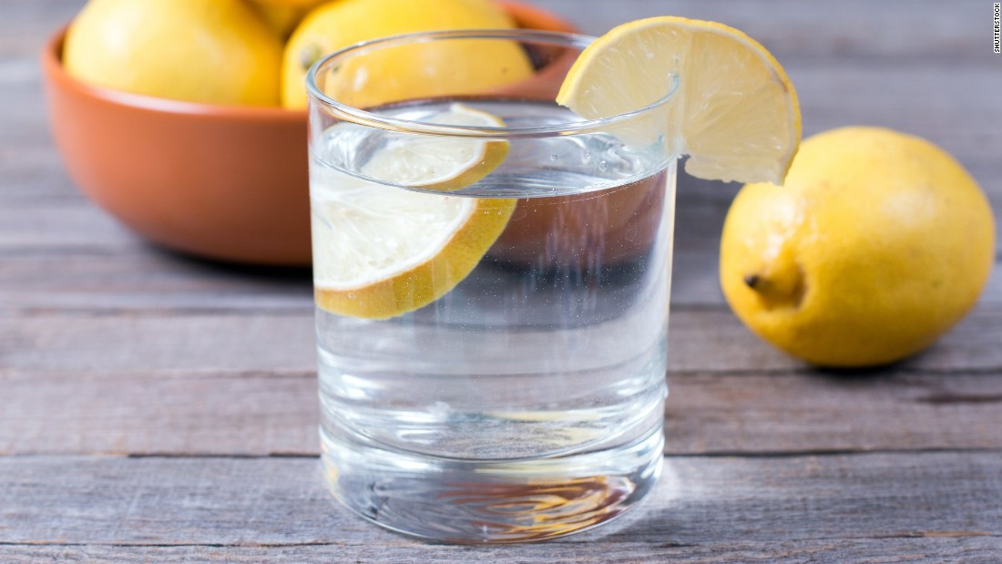 Both ice and lemons in water have the potential to transfer bacteria. A study found that a hand or an ice scoop contaminated with E. coli could transfer the bacteria to ice.