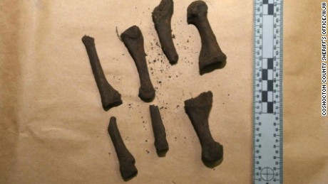 The bones could be from the Hopewell or the Delaware tribes, experts told CNN affiliate WJW-TV.