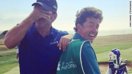 Faldo and O'Donoghue: Golf's latest double act