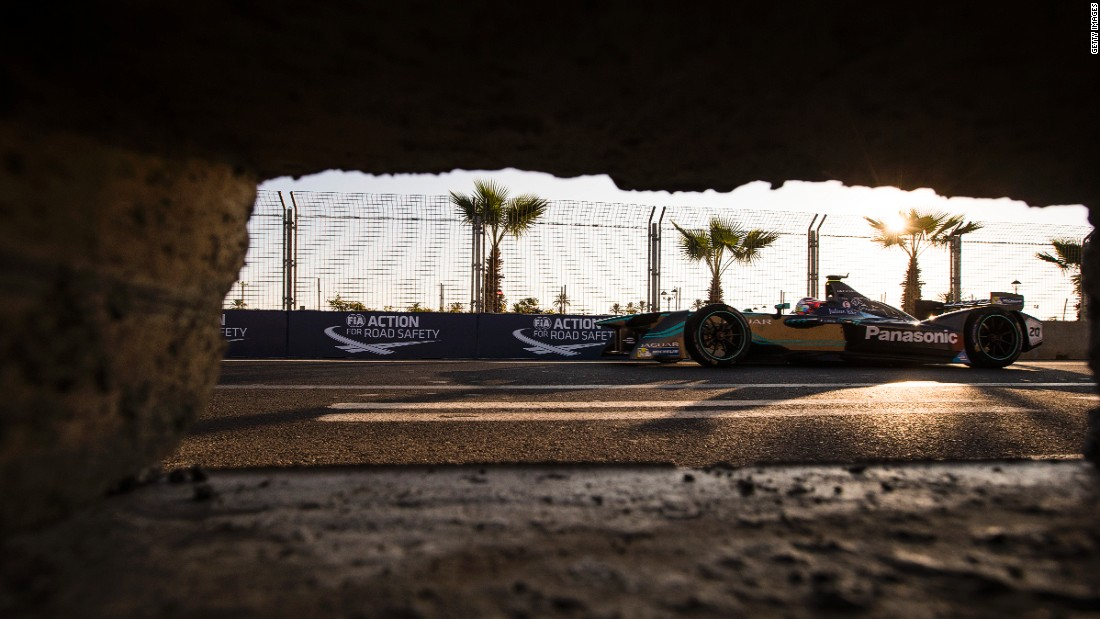 November's race in Marrakech also saw Formula E break new ground -- it was the first time the electric race series had visited Africa.